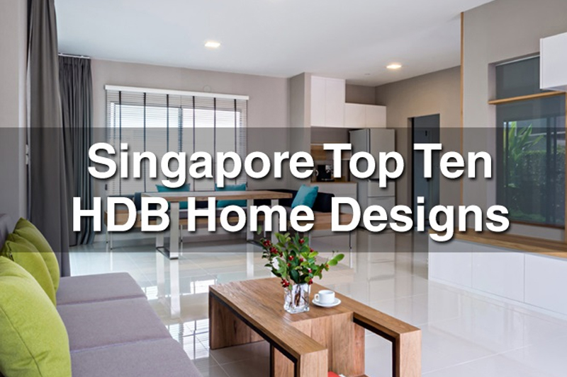 Singapore TOP 10 HDB Designs