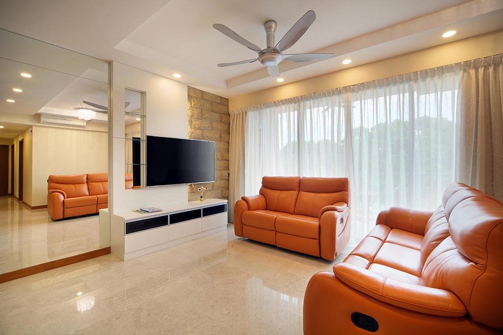 Living Room - Hamid & Sons Interior Design
