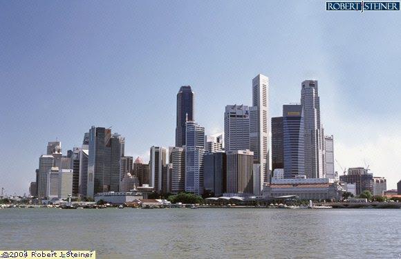 Singapore Skyline, At Marina Bay