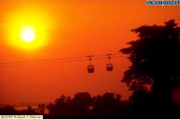 Cable Car - Front seat to view Sunset !