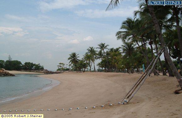 Sentosa Beaches, Siloso Beach, Enjoy the Serenity of the Beach