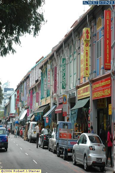Little India, Rows of Shophouses