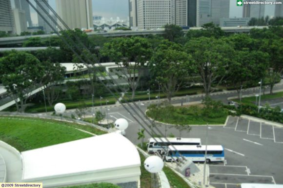 Singapore Flyer, Carpark