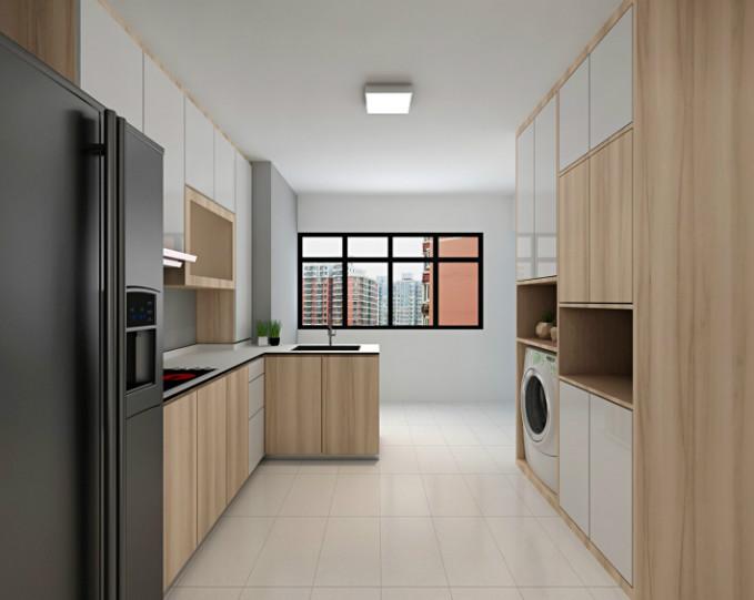 Stunning HDB Kitchen Interior Design Design Ideas