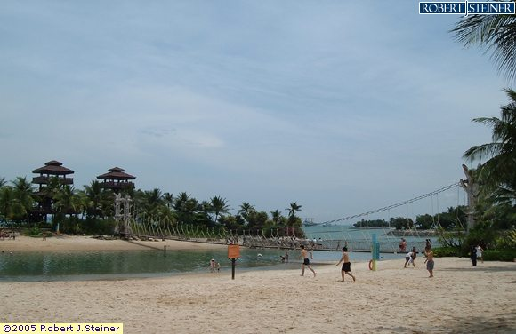 Sentosa Beaches, Palawan Beach, Southernmost Point of Continental Asia