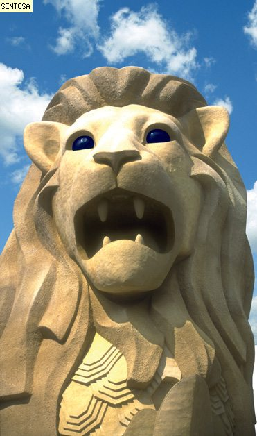 The Merlion, Up Close