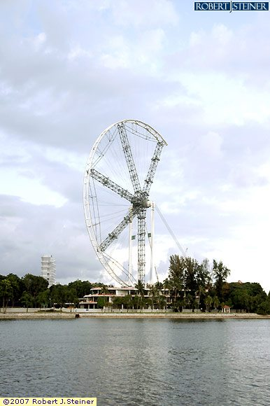 Ferris Wheel, South East View 4