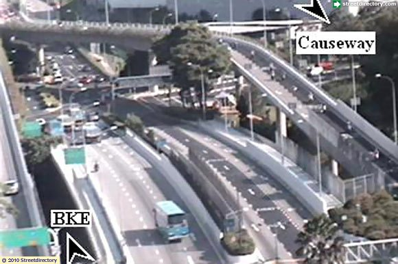 traffic camera woodlands and tuas checkpoint   woodlands